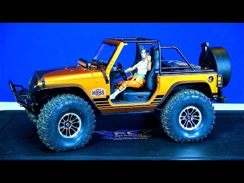 RC ADVENTURES - Unboxing JEMS New Modded JEEP JK 4x4!