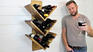 The $15 Wine Rack - Easy DIY Project
