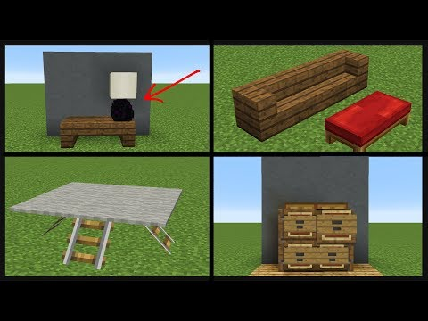 39 Minecraft Decoration Designs!