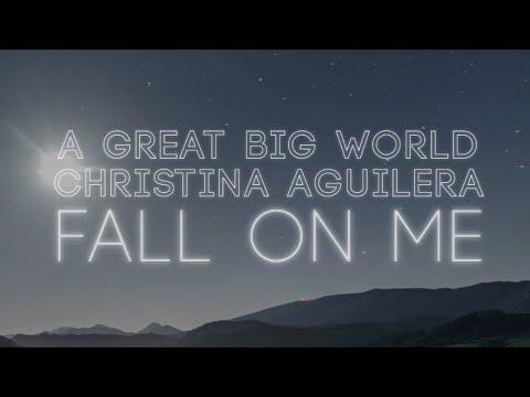Fall on Me (Lyric Video) [Feat. Christina Aguilera]