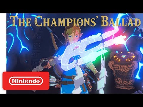 The Legend of Zelda: Breath of the Wild – Expansion Pass: DLC Pack 2 The Champions' Ballad Trailer