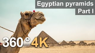 360°, Egyptian pyramids, Part I. 4К video