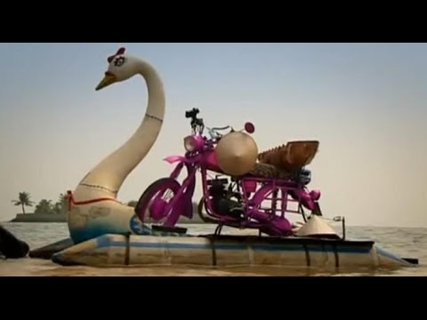 Vietnam Motorbike Special Part 2 – Amphibious bikes! – Top Gear – Series 12 – BBC
