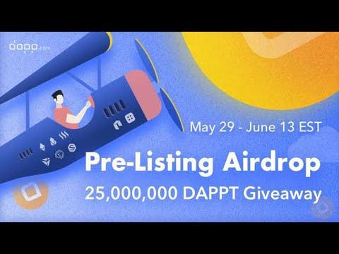 🔴URGENTE🔴 U$100,000 Dólares em airdrops na DAPP . ACABA EM 10 DIAS!