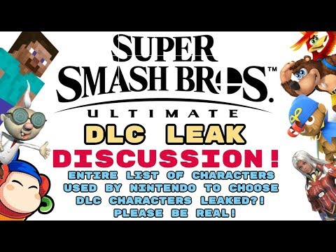HUGE Smash Ultimate DLC Leak! THE EVIDENCE IS THERE!! HERE ARE OUR