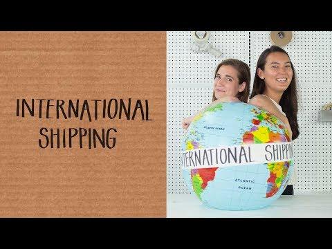 , title : 'International Shipping 101