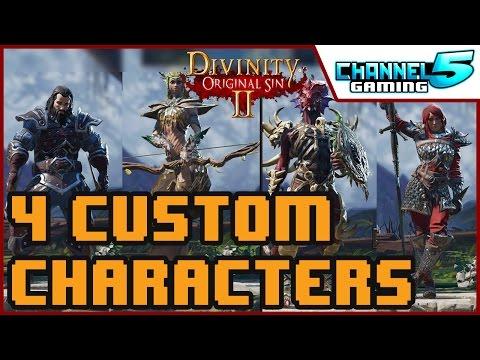 The premade companions vs 4 custom characters :: Divinity
