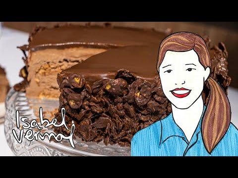 Torta de chocolate y avellanas: Crocante y chocolatoza. Imperdible!