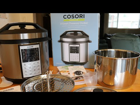 Cosori 8-in-1 Pressure Cooker (6qt) || Demo and Review