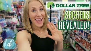 10 Dollar Tree Shopping Secrets REVEALED! 💚