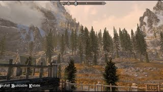 Skyfall Estate - Buildable Edition - Skyrim Special Edition House Mod