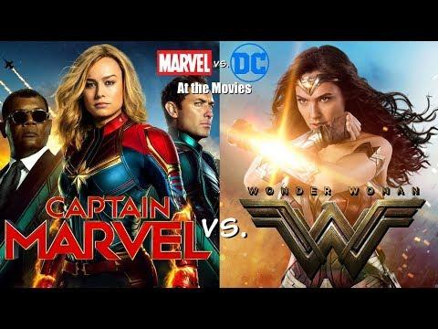 Wonder Woman vs. Captain Marvel - Marvel vs. DC: At the Movies
