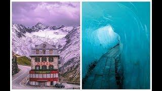 Вот почему тающий ледник в швейцарских Альпах стал причиной закрытия старинного отеля