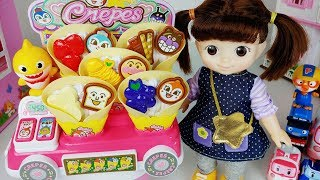 Fruit crepes and food shop cooking toys Baby Doll play - 토이몽