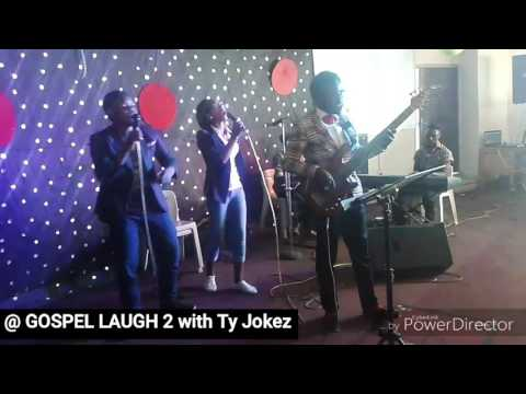 Ty Jokez live on Bass at Gospel Laugh 2 Ilorin Invasion