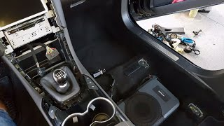 How to Alpine PWE-S8 Underseat Subwoofer | Step By Step Install On a Ford Mondeo Mk5 (Ford Fusion)