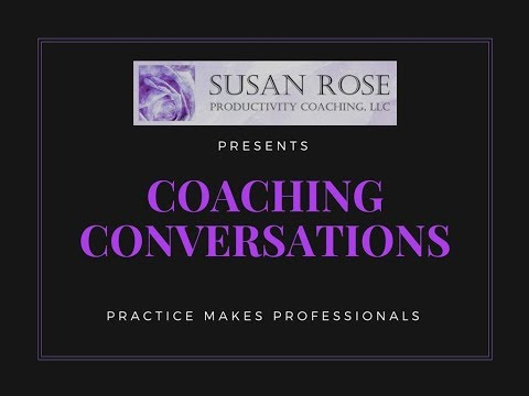 Coaching Conversation: Practice Makes Professionals
