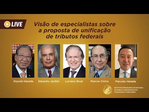 Luciano Bivar, Marcos Cintra, Eduardo Jardim e Kiyoshi Harada debatem na live do IBEDAFT a proposta de Imposto Único Federal – IUF