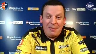 "Dave Chisnall: on comeback win over Ryan Joyce: ""I want to buy him a pint after tonight!"""