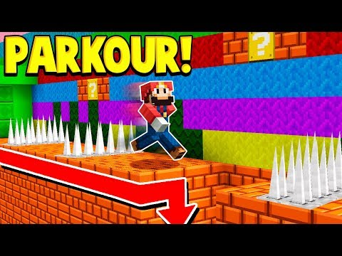 REALISTIC MINECRAFT SUPER MARIO PARKOUR! download YouTube