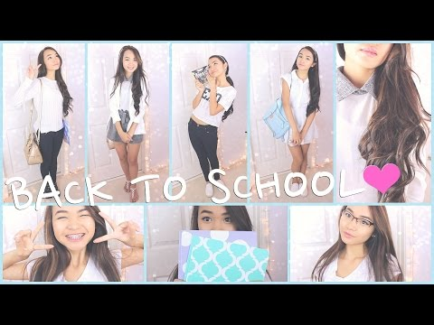 ♡Back-to-School Makeup, Hair &Outfits!♡