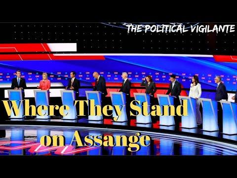 2020 Democratic Presidential Candidates Position On Julian Assange — The Political Vigilante