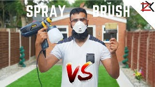 How To Paint Fence Panels | SPRAY VS BRUSH | Wagner Universal W570 Flexio Sprayer Review