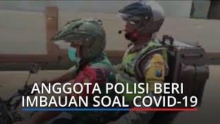 VIRAL: Aksi Polisi Beri Imbauan Soal Covid 19 di Apresiasi Kapolri, tapi Nasibnya Malah Tragis