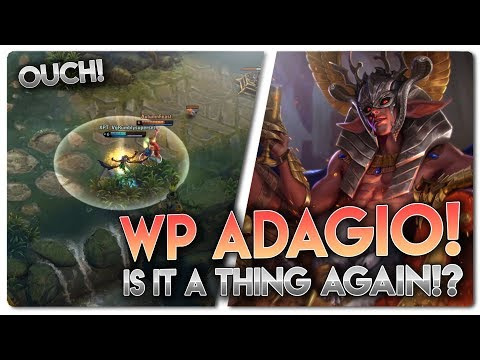 WP ADAGIO RANKED!?... Vainglory 5v5 [Ranked] Gameplay - Adagio |WP| Bot Lane Gameplay