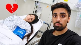 RUSHED HER TO THE HOSPITAL ...