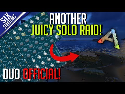 Another Juicy Solo Raid Duo Official Pvp   Ep 13   Ark Survival Evolved