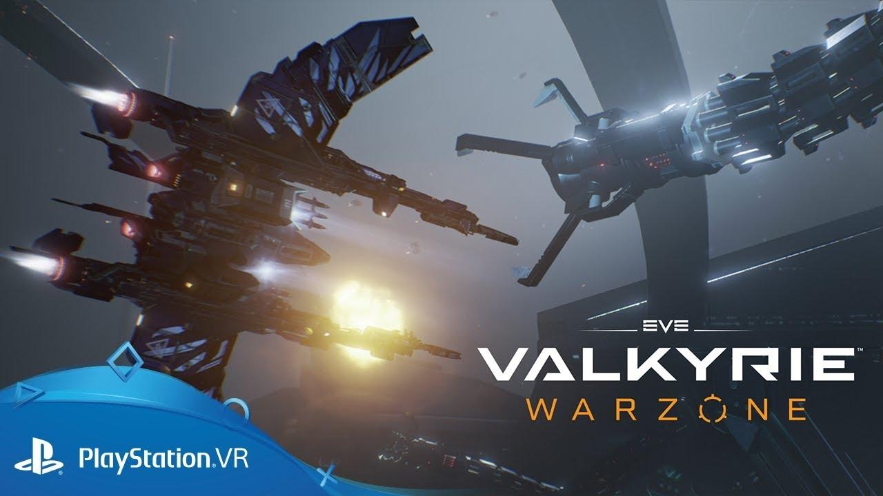 Der Weltraumkampf-Shooter EVE: Valkyrie – Warzone wird heute für PS4 veröffentlicht