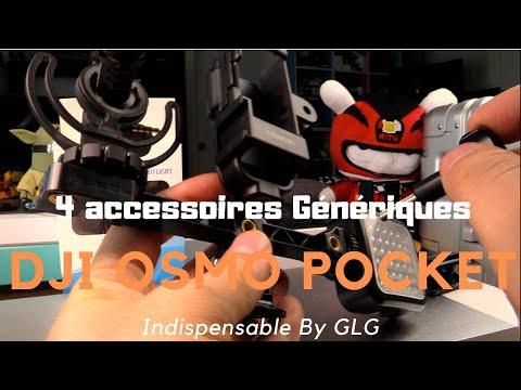 4 accessoires Génériques pour la Dji Osmo Pocket, By GLG