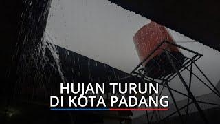Peringatan Dini BMKG Waspada Hujan Lebat Disertai Petir di Padang dan Sejumlah Wilayah Sumbar