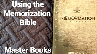 Flip-Through Of The Memorization Study Bible (Master Books)