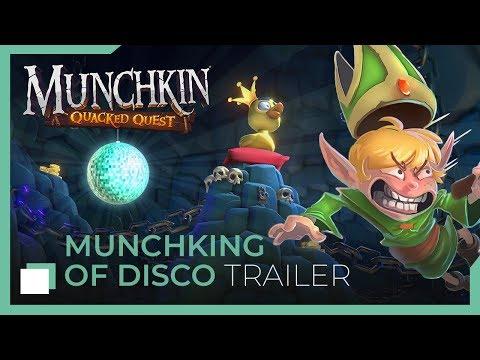 Munchkin: Quacked Quest - Munchking Of Disco thumbnail