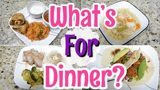 WHATS FOR DINNER? | Easy Weeknight Meals | Working Mom What's For Dinner | Easy Dinner Ideas