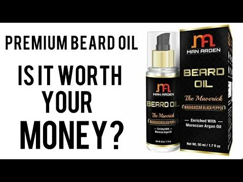 , title : 'Man Arden - The Maverick Beard Oil Review'