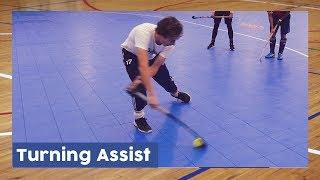 Turning Assist tutorial - Indoor Hockey Technique | HockeyheroesTV