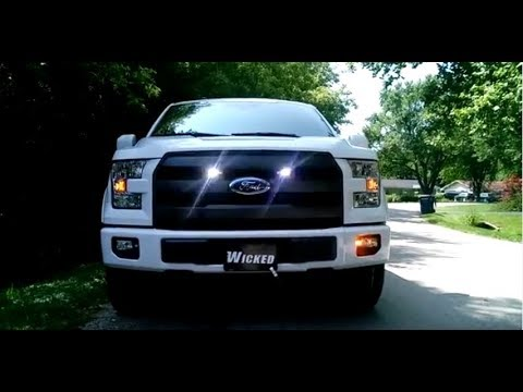 2017 F-150 LED Strobe Lights by Wicked Warnings