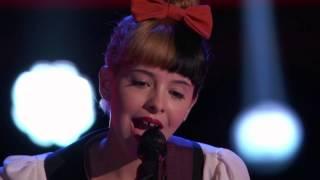 Melanie Martinez's Audition   Toxic    The Voice