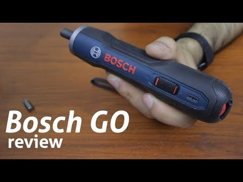 Review Atornillador USB Bosch GO