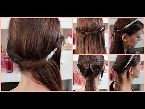 Frisuren Mit Haarband Lange Haare Modische Lange Frisuren