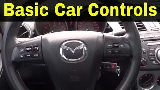 Basic Car Controls-Driving Lesson