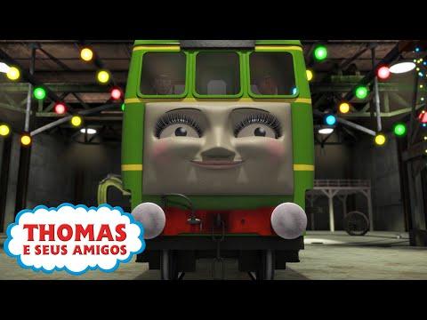 Thomas e Seus Amigos | O Natal Perfeito da Daisy | EPISÓDIO COMPLETO | Desenhos Animados | Trem