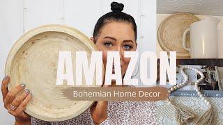 AMAZON HOME DECOR HAUL | Modern Bohemian Farmhouse