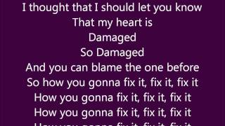 Danity Kane- Damaged Lyrical Video
