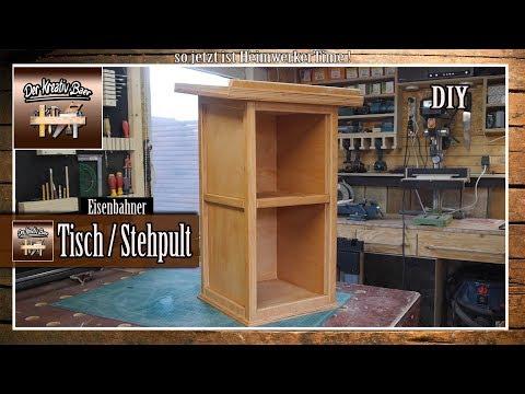 ✅ Tisch | Pult  selber bauen aus Holz |  selber machen