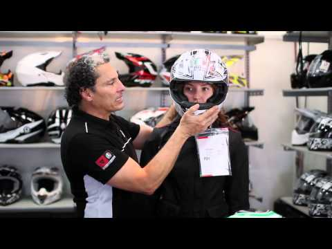 Cúal es la talla de mi casco/The right size of your motorcycle helmet