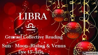"LIBRA DECEMBER 15-31 ""YOUR WISH IS ARRIVING...ARE YOU READY?"""